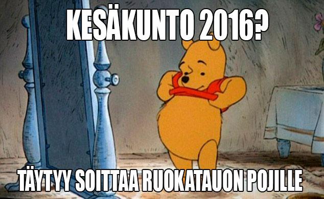 Kesäkunto 2016