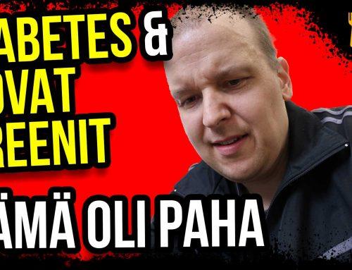 Diabetes ja liikunta, pahin jumppa viimeisenä