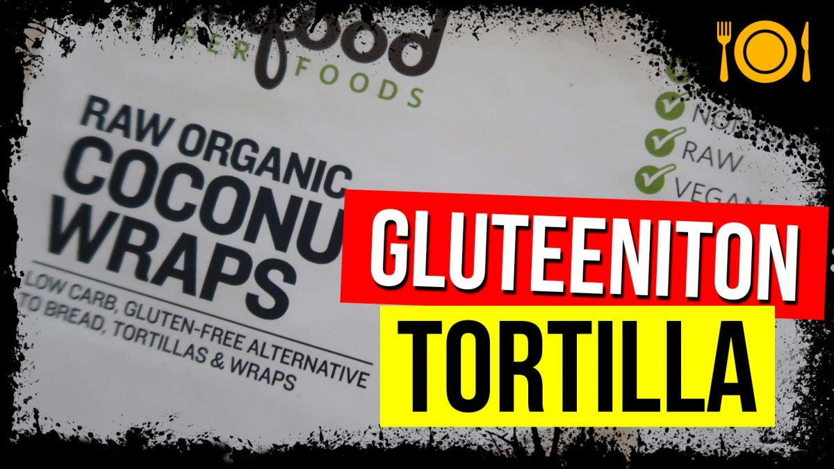 gluteeniton tortilla