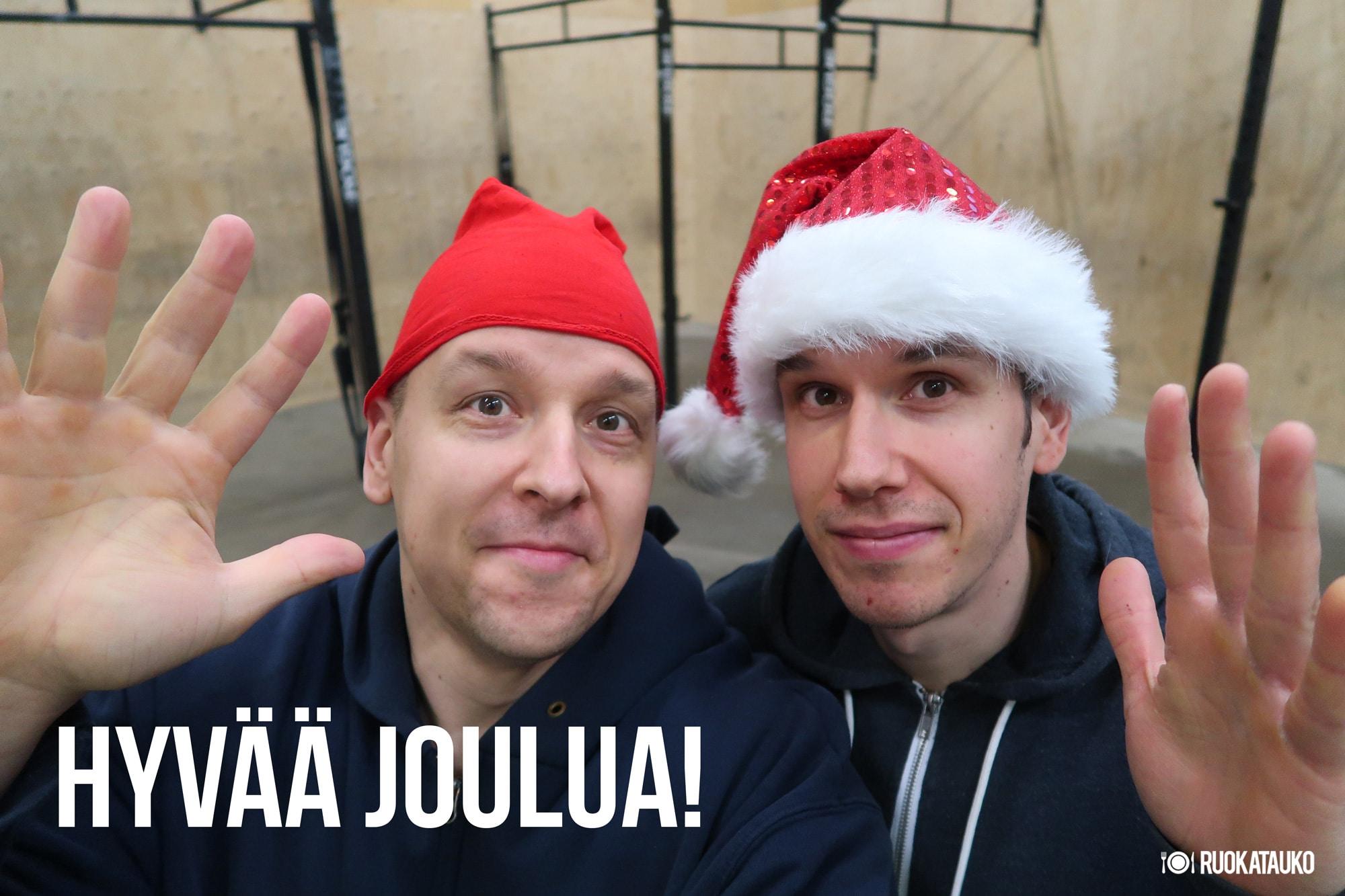 hyvää joulua 2018