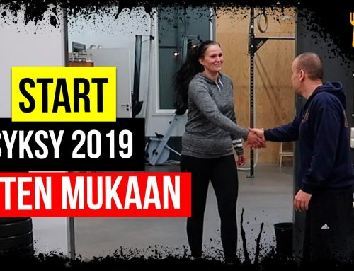 Syksyn 2019 kaikki START-tapaamiset