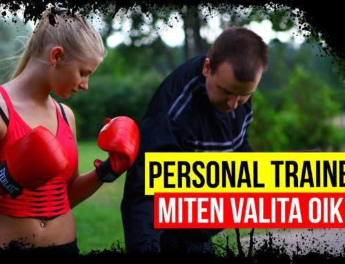 Miten valita oikea Personal Trainer?