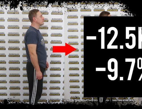 40v mies aloittaa rasvanpolton – Lassen tarina