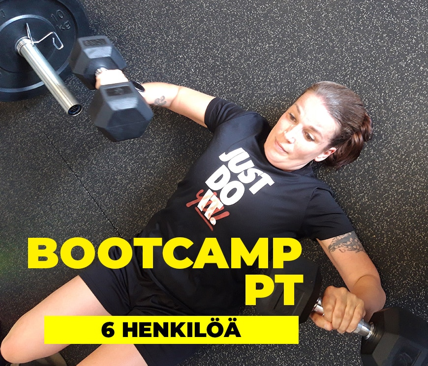 bootcamp personal trainer